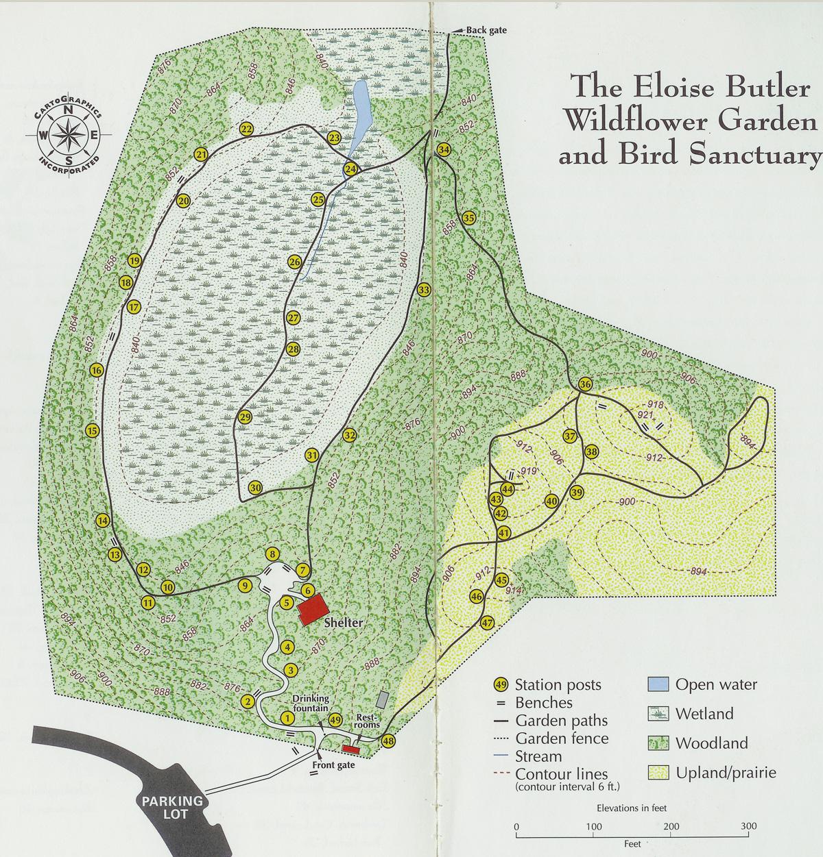 Garden Plan Map